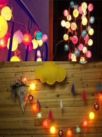 LED Light Creative Lovely Warm And Sweet Multi-Color Festival Battery Type Decorative String Light