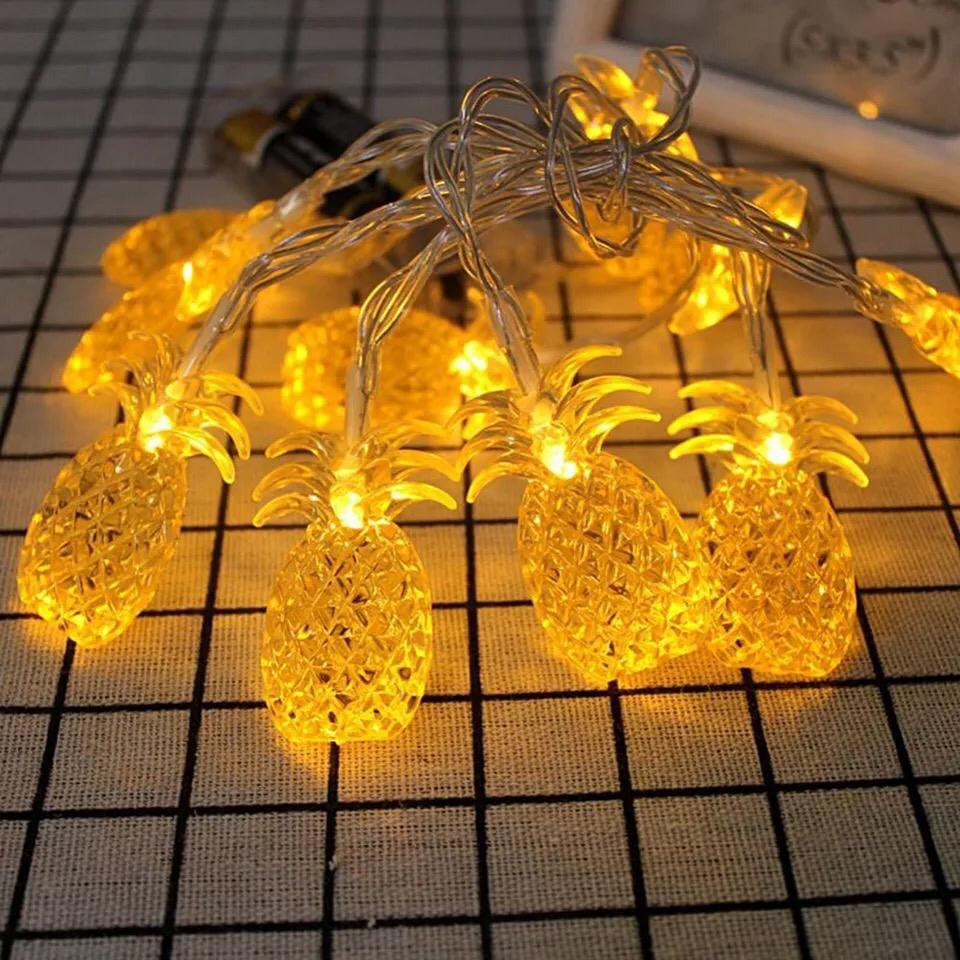 10 Pineapple Led String Fairy Light