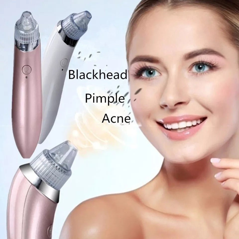 Remove Blackhead Vacuum Face Pimple Tool Acne Cleaner Nose Black Head Suction Facial Lifting Skin Tightening Rejuvenation