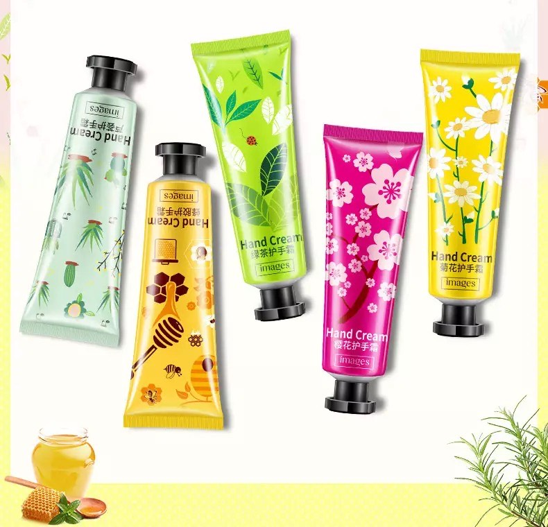 Cherry blossoms Green Tea Aloe Propolis Bee Hand Creams Anti Aging Dry Lotion Cream Hands Skin Care