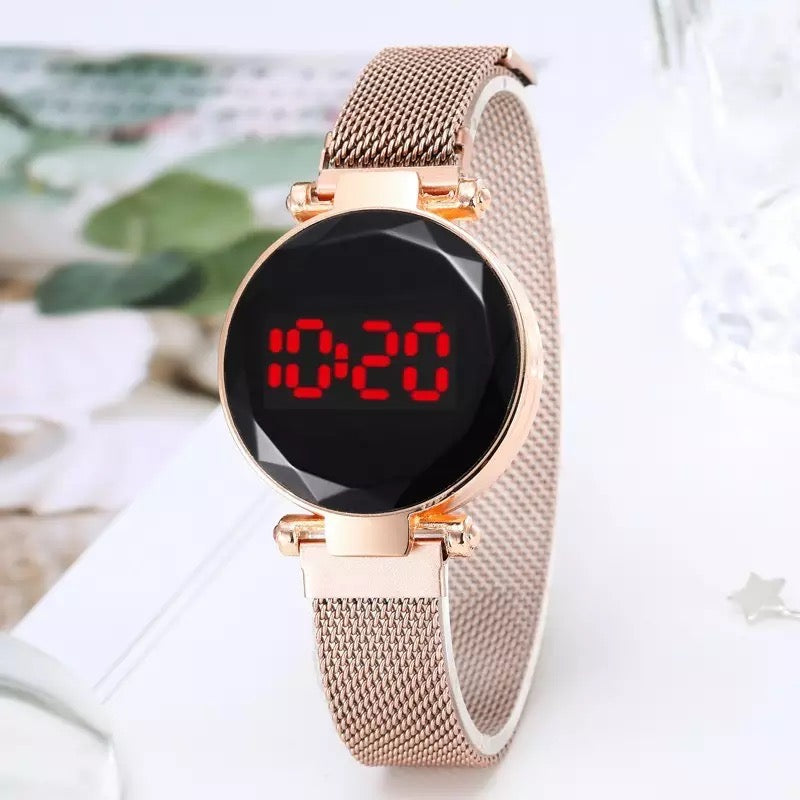 Touch Led Magnetic Chain Watch