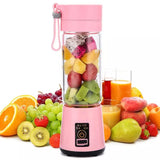 380ml Blades Mini Portable Electric Fruit Juicer USB Rechargeable