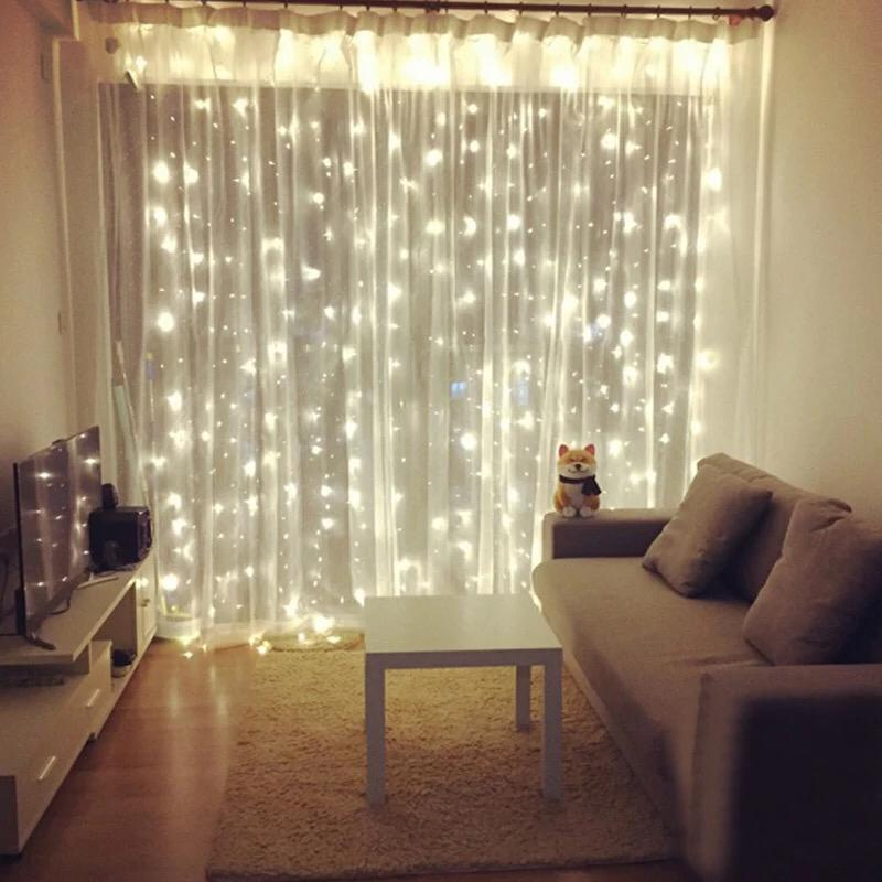 300 LED Curtain String Light DECOR