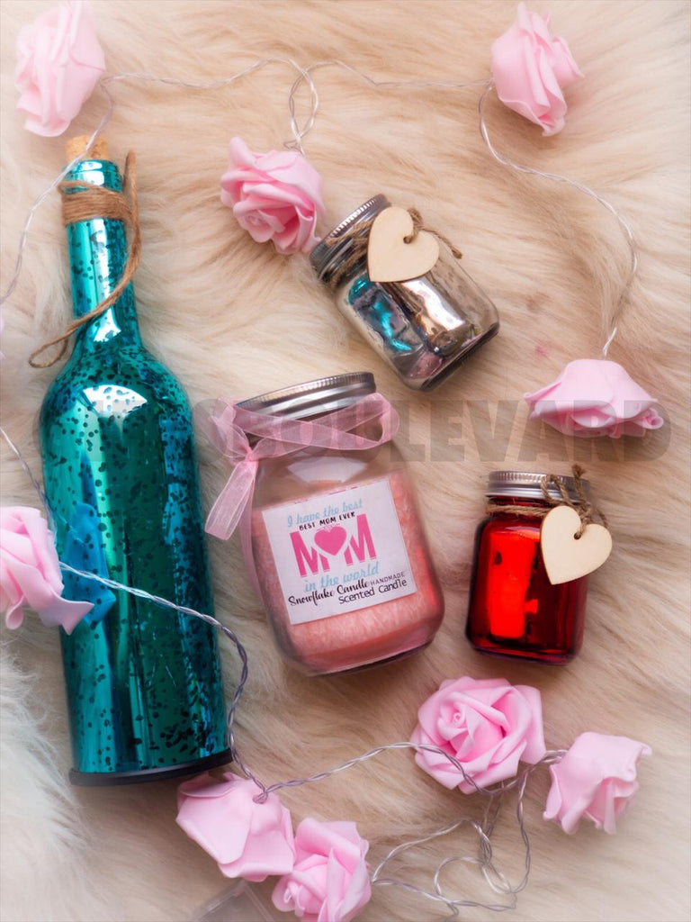 Bottle Mason Jar And Scented Candles