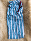 Light Blue With White Line Trouser