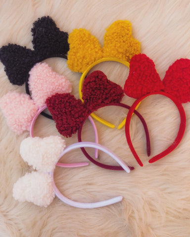 Fur Mickey Headband