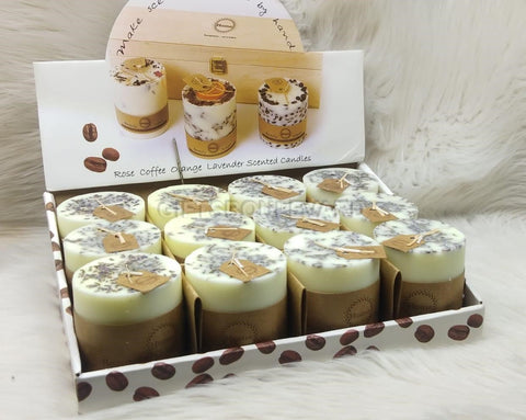 Rose Coffee Change Lavender Scented Candles