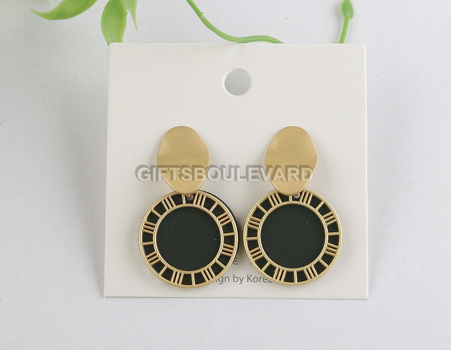 Fashion Candy Geometric Stud Earrings