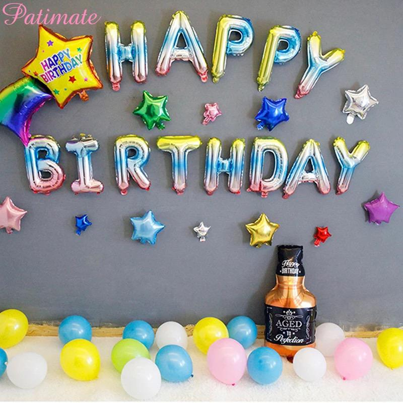 Holographic Happy Birthday Package