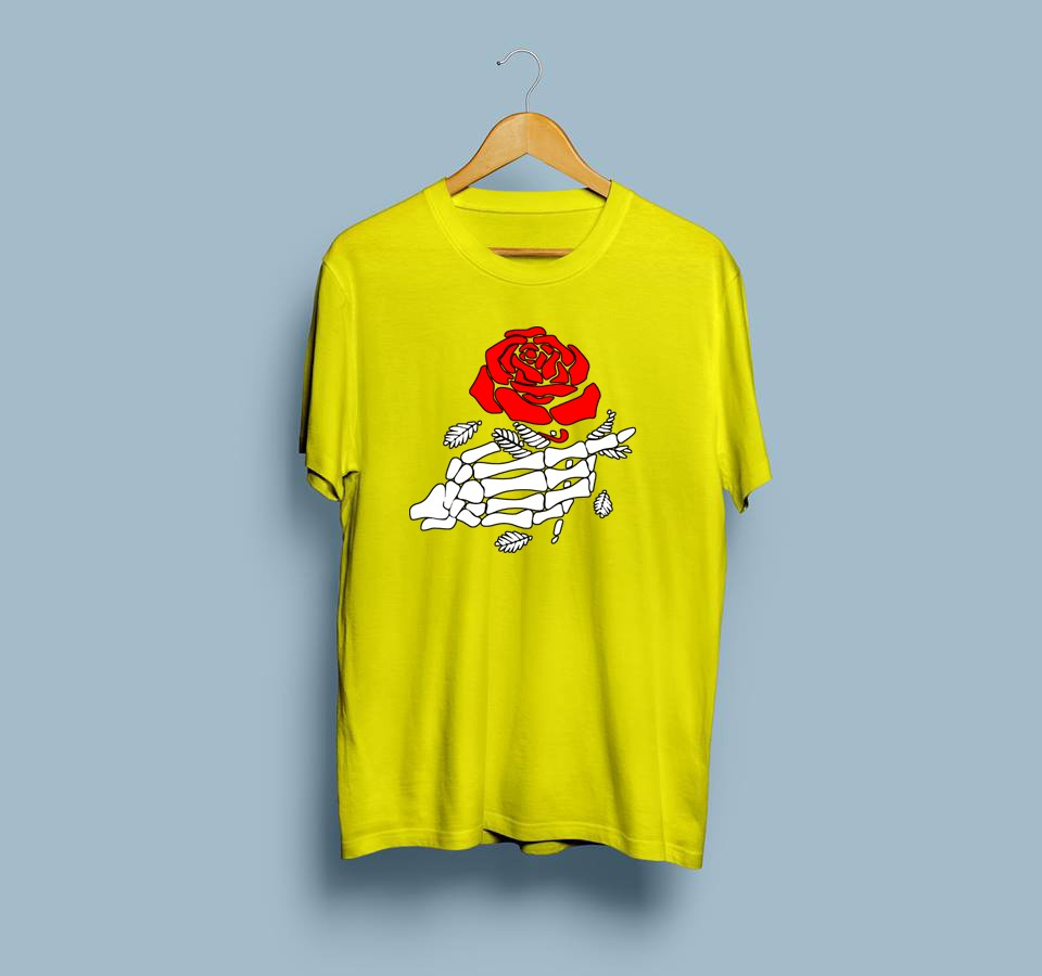 Hand With Rose T-Shirt