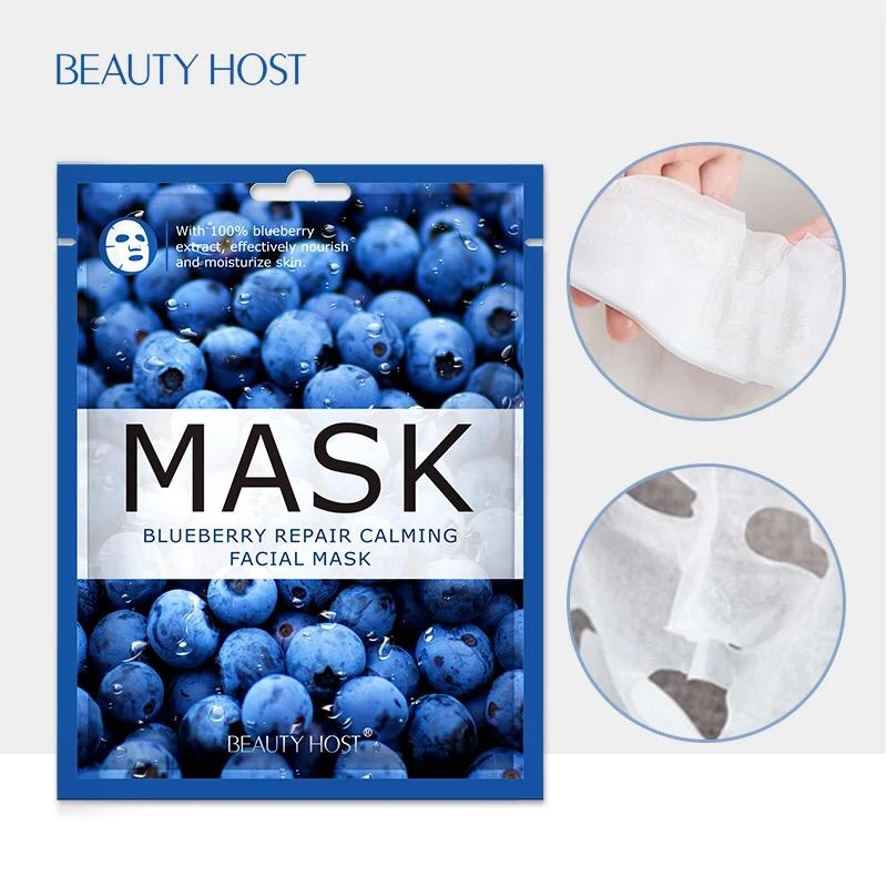 Natural Skin Care Repair Calming Smoothing Fruit Moisturizing Whitening Face Mask