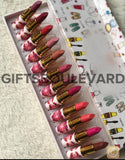 12 Pcs Flower Lipstick