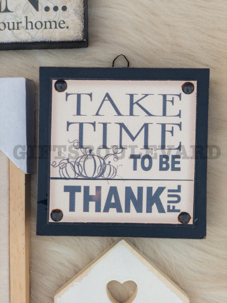 Take Time Wall Hanging