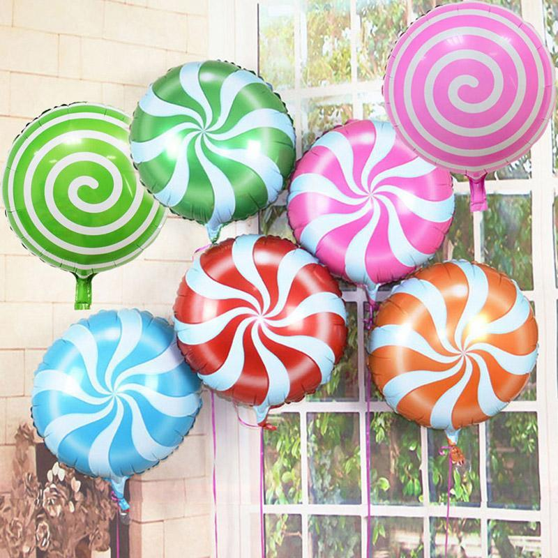 Round Candy Foil Balloon 1Piece Set