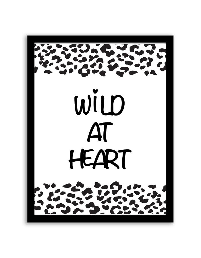 Wild At Heart Wall Art Frame