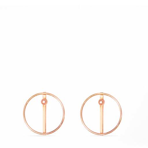 C E R C L E nude | earrings