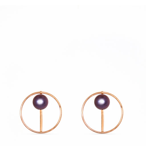 C E R C L E pearl | earrings