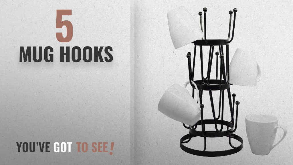 Top 10 Mug Hooks [2018] Real Time Prices and Discounts: