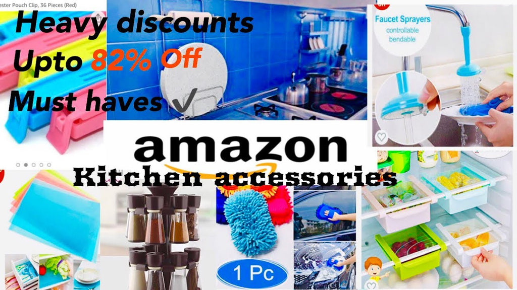 kitchenaccessories #amazondiscounts #offersonamazon #cheapshoppingonamazon #amazonkitchen #kitchenmusthaves #indiankitchen DISCLAIMER All the ...