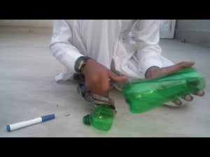 Hi, I am now showing you all how to make a cup holder out of plastic bottles.it is simple but is useful.you all can put cups in them and keep them on one side.if ...