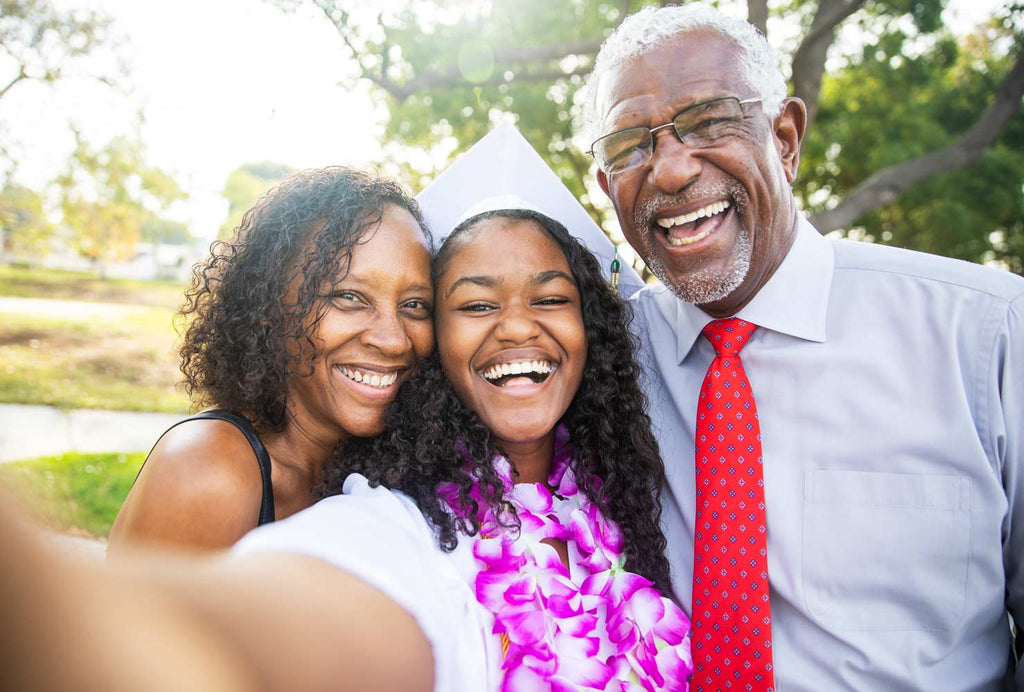 Graduation is an exciting time for the whole family, signaling the end of one era in your grad's life and the start of a new one