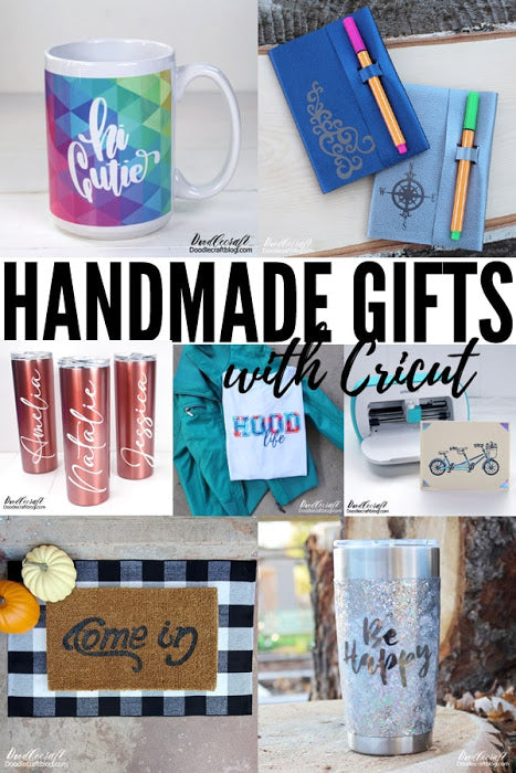 How to Make Handmade Gifts with Cricut