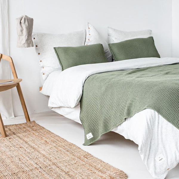 Moyha plaid Lazy Morning - Sage - Rebellenclub