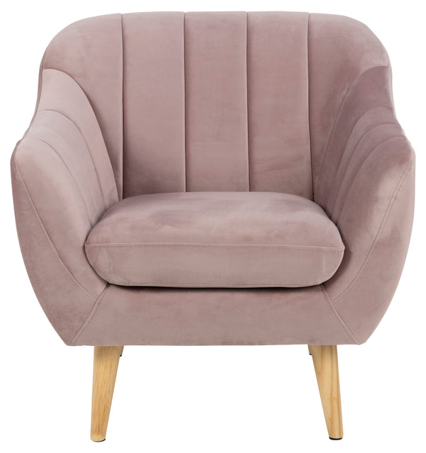 Cadiz Fauteuil in stof Vic - Dusty Roze - Rebellenclub
