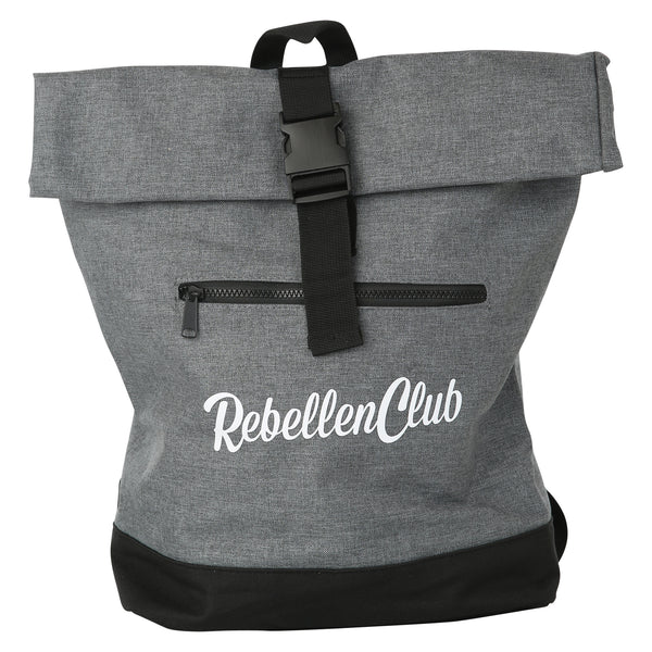 Rebellenclub Rugzak Roll-top Grey - Rebellenclub