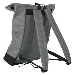 Rebellenclub Rugzak Roll-top Grey