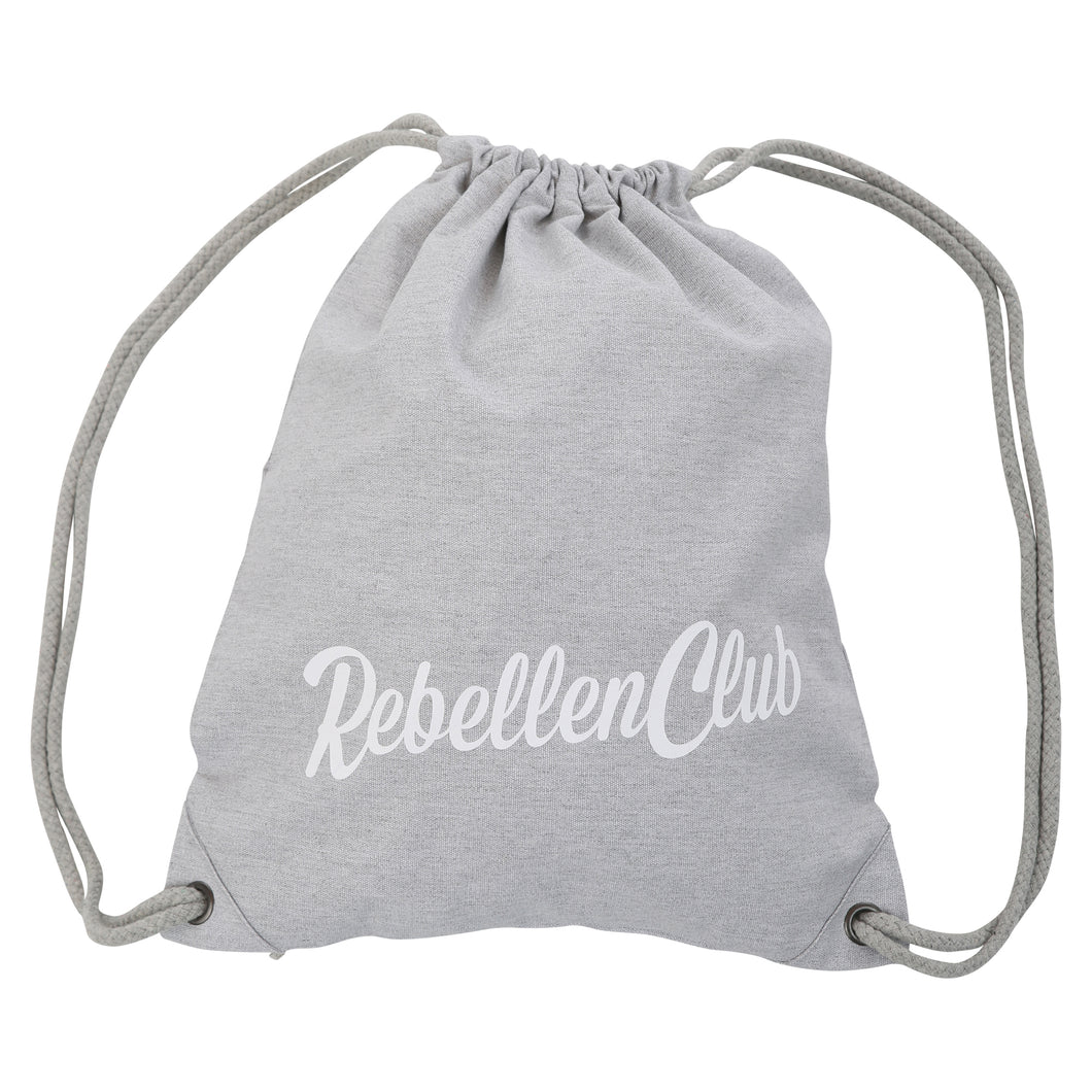 Rebellenclub Gymbag Grey