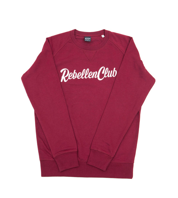 Rebellenclub Sweater Belize Burgundy - Rebellenclub
