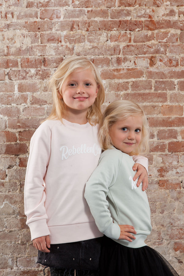 Rebellenclub Kids Sweater Pink - Rebellenclub