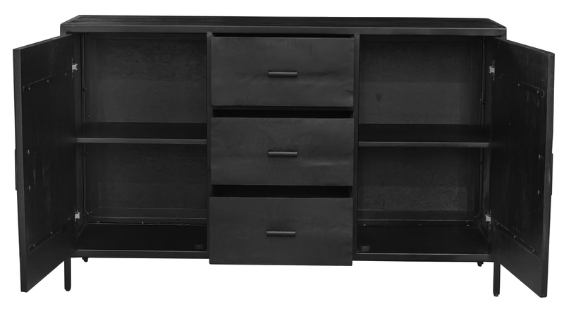 New Nomads Dressoir Midnight - 175x80x40 cm - Rebellenclub