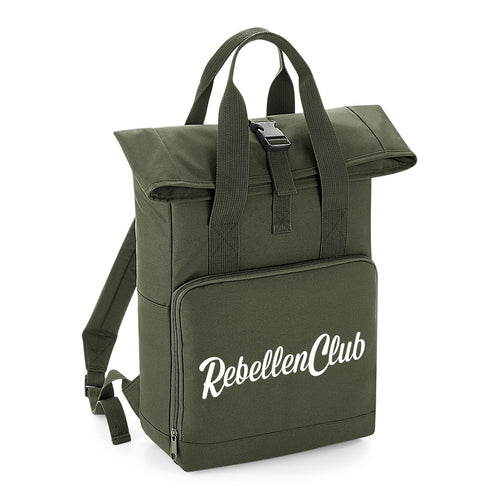 Rebellenclub City Rugzak – Olive Green