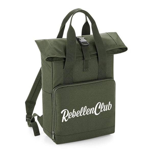 City Rugzak – Olive Green - Rebellenclub