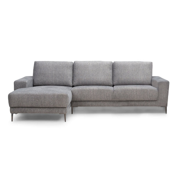 Bank Malmo met Chaise Longue - Unit Dark Grey 68 - Rebellenclub