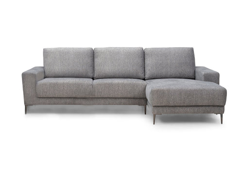 Rebellenclub Bank Malmo met Chaise Longue - Unit Dark Grey 68 - Rebellenclub
