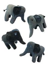 Afbeelding in Gallery-weergave laden, Rebellenclub Knuffel Recycled Jeans - Olifant - Rebellenclub