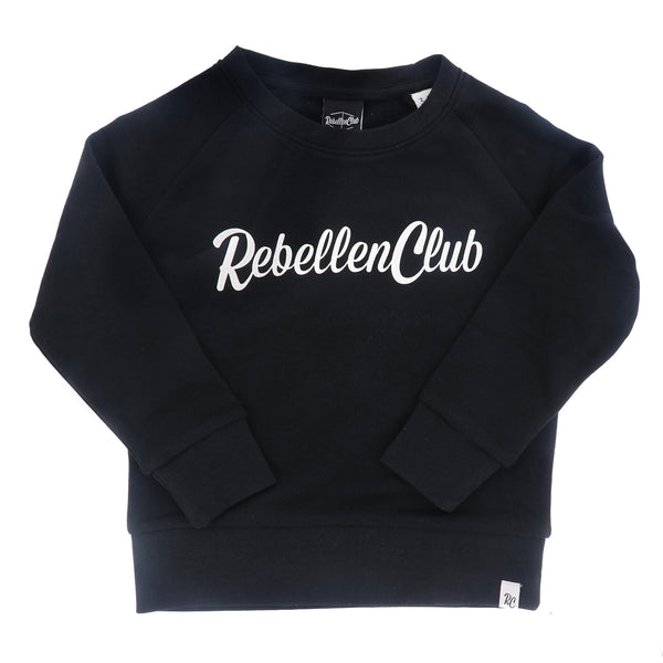 Rebellenclub Kids Sweater Zwart - Rebellenclub