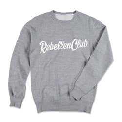 Rebellenclub Sweater Heren - Licht Grijs - Rebellenclub