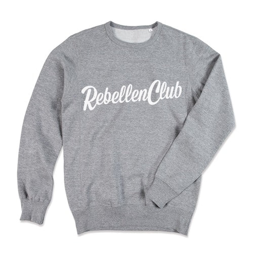 Rebellenclub Sweater Heren - Licht Grijs