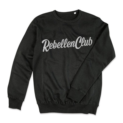Rebellenclub Sweater Heren - Zwart