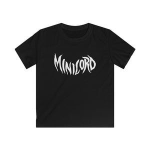 Minilord - Kids Softstyle Tee - SHIPS FROM CZECH REPUBLIC