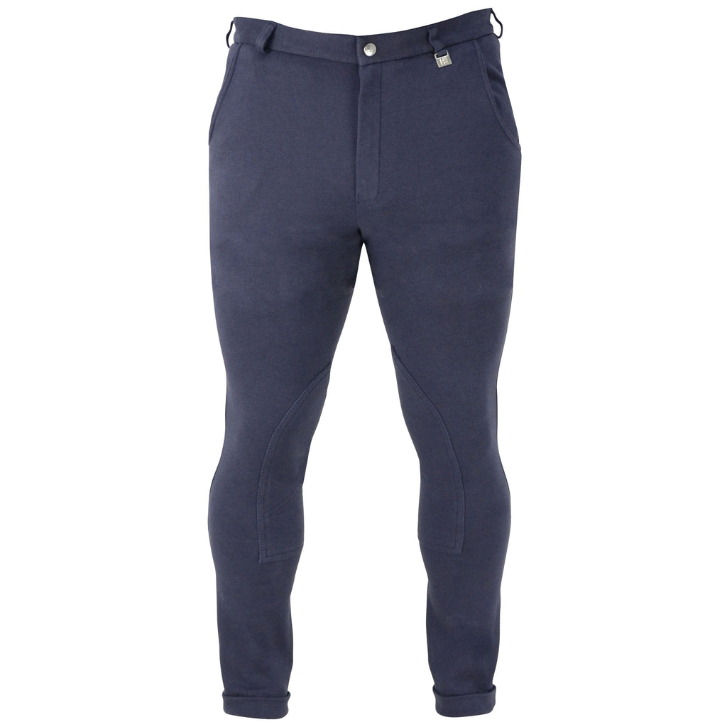 HyPERFORMANCE Melton Men's Jodhpurs - Practical for Everyday Wear - Male Equestrian
