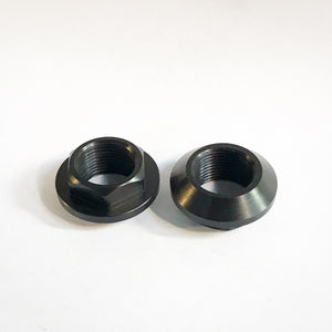 AE86 delrin headlight/wiper switch nuts pair