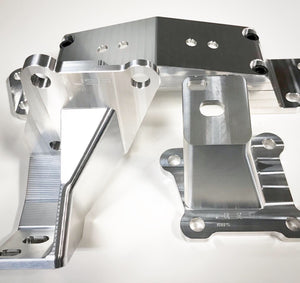 JSP billet K24 into AE86 engine mount kit