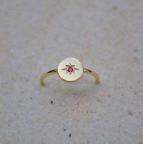 Red Star Ring