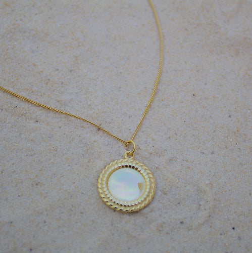 Golden Sun Necklace