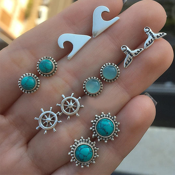 Ocean Gem Earrings